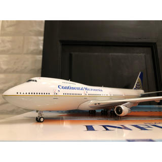 1/200 inflight B747-200 コンチネンタル ミクロネシア航空(航空機)