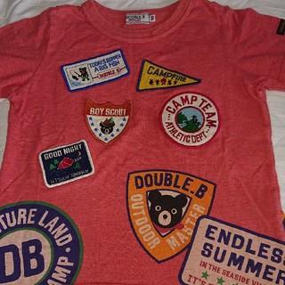 ダブルビー(DOUBLE.B)のダブルB ワッペン沢山Tシャツ 100(その他)