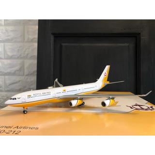 """""""希少"""" 1/200  jcwings A340-200 ブルネイ政府専用機(航空機)"""