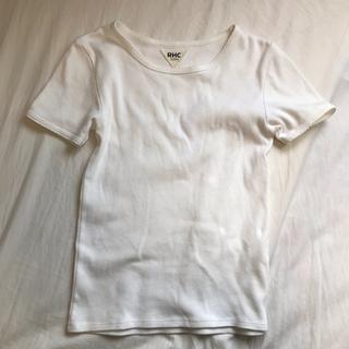 ロンハーマン(Ron Herman)のRHC Tシャツ ホワイト(Tシャツ(長袖/七分))