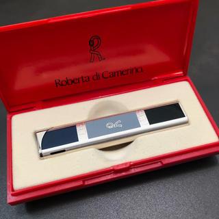 ロベルタディカメリーノ(ROBERTA DI CAMERINO)のroberta di camerino タバコ ライター ブルー×ブラック 美品(その他)