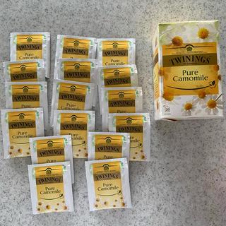TWININGS 紅茶 ピュアカモミール Tパック(茶)