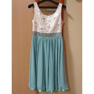 AIMER - ミントグリーン ドレス ワンピース Mサイズ