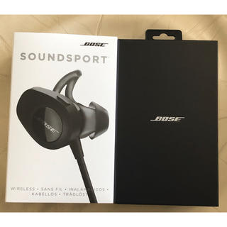 ボーズ(BOSE)の【動作確認済み】◆BOSE SoundSport ◆ワイヤレスイヤフォン(ヘッドフォン/イヤフォン)