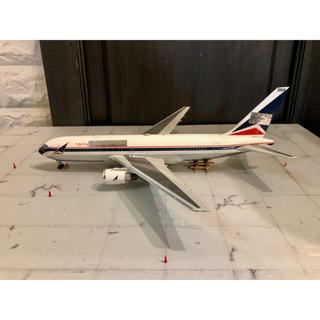 自作品 1/200 退役機 ジオラマ Gemini B767-200 デルタ航空(航空機)