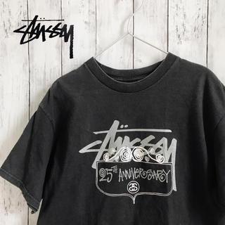ステューシー(STUSSY)のステューシー Tシャツ バックプリント 25th アニバーサリーT(Tシャツ/カットソー(半袖/袖なし))