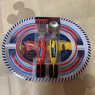 ディズニー(Disney)の新品 カーズ 食器 お皿 フォーク スプーン 離乳食(離乳食器セット)