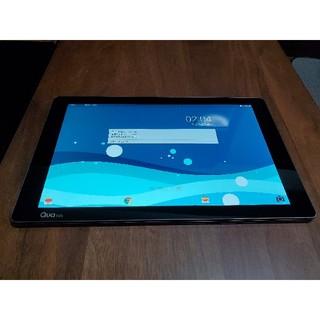 エルジーエレクトロニクス(LG Electronics)の美品 Qua tab pz au 防水タブレット 10インチ ネイビー(タブレット)