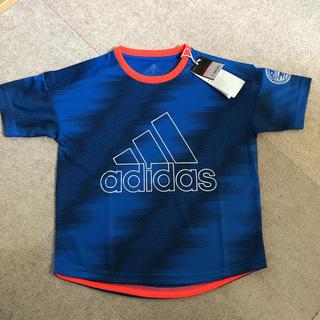 アディダス(adidas)のアディダス ドライTシャツ 青 130(Tシャツ/カットソー)