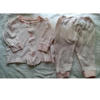 ムジルシリョウヒン(MUJI (無印良品))の無印良品 パジャマ 80-90(パジャマ)