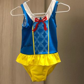 ディズニー(Disney)の【美品】白雪姫 なりきり水着 90cm(ワンピース)