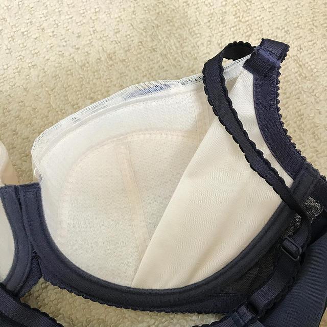 Wing(ウィング)のウイングのブラ E80 レディースの下着/アンダーウェア(ブラ)の商品写真