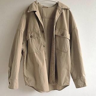プラージュ(Plage)の19SS 製品加工Bigアーミーシャツ(ミリタリージャケット)