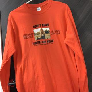 SPINNS - オレンジ 長袖Tシャツ ロングTシャツ
