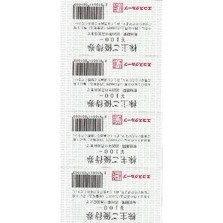 エコス(たいらや)株主優待券1600円分(ショッピング)