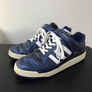 アディダス(adidas)のアディダス フォーラム ロー ブルー adidas FORUM LO 28.5(スニーカー)