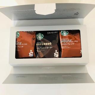 スターバックスコーヒー(Starbucks Coffee)のスタバ オリガミ ドリップコーヒー 6袋 スターバックス 珈琲 スタバコーヒー(コーヒー)