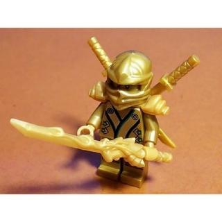 Lego - レゴ★ニンジャゴー 黄金ロイド 武器付 美品 激レア
