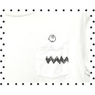 ユニクロ(UNIQLO)のチャーリー・ブラウン Tシャツ ユニクロ UT スヌーピー レディース(Tシャツ(半袖/袖なし))