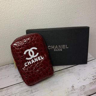 シャネル(CHANEL)のCHANEL ノベルティ  たばこポーチ 赤(ポーチ)