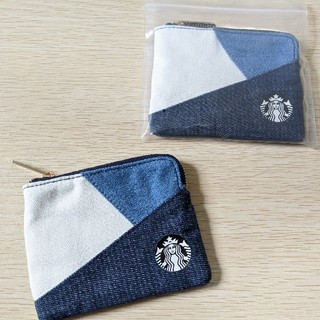 Starbucks Coffee - 台湾限定 スターバックス 22周年 デニム コインケース 財布 日本未発売
