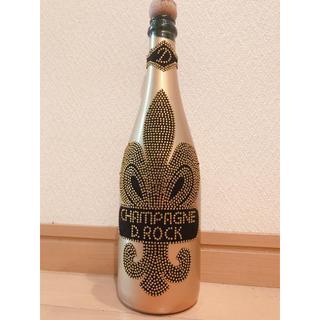 D ROCK ゴールドブリュット 空き瓶(シャンパン/スパークリングワイン)