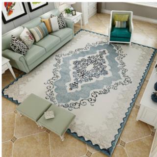 ヨーロッパ式のリビングルームの豪華なカーペット(カーペット)