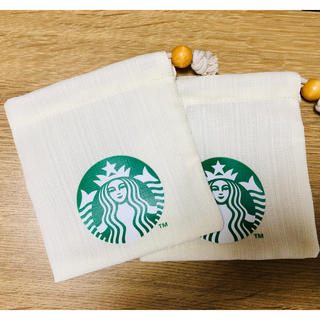Starbucks Coffee - スターバックス 巾着 ポーチ 小物入れ USB入れ 等 匿名配送