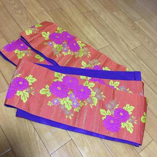 新品未使用 浴衣帯 紫(浴衣帯)
