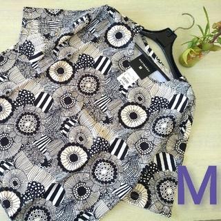 ユニクロ(UNIQLO)の新品○UNIQLO×marimekko ユニクロ×マリメッコ○Tシャツ(M)白(Tシャツ(半袖/袖なし))
