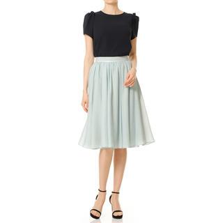 アベニールエトワール(Aveniretoile)の新品未使用 アベニールエトワール♡ワッシャーボイルスカート(ひざ丈スカート)