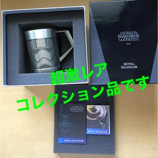 ディズニー(Disney)のスターウォーズ スズ製のマグカップ(SF/ファンタジー/ホラー)