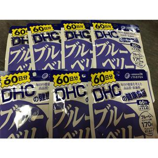 ディーエイチシー(DHC)のブルーベリーエキス60日分×7(ビタミン)