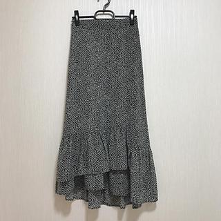 ナチュラルクチュール(natural couture)の超美品 natural couture     花柄 ロングスカート F(ロングスカート)