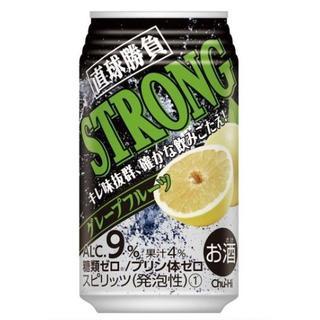 【沖縄/北海道 不可】チューハイ 直球勝負 ストロング GF 350ml 24缶(その他)