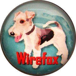 ワイヤーフォックステリア 犬ピンバッジ ピンバッジドッグ 37P3425(その他)