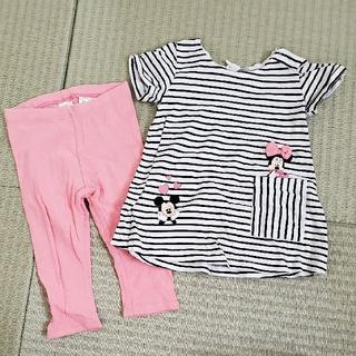 エイチアンドエイチ(H&H)のH&M♡ミニーちゃんセットアップ(Tシャツ)