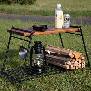 【フルセット】アイアン焚き火テーブル(アウトドアテーブル)
