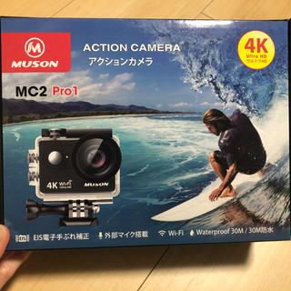 ゴープロ(GoPro)のムソン アクションカメラ(コンパクトデジタルカメラ)
