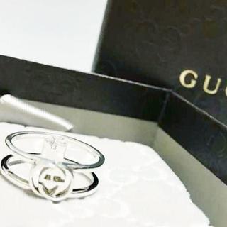 グッチ(Gucci)の☆新品☆未使用☆Gucci グッチ インターロッキング Gリング13号(リング(指輪))