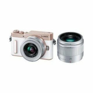 パナソニック(Panasonic)の新品パナソニックミラーレス一眼カメラLUMIX GF10(ダブルレンズキット) (ミラーレス一眼)