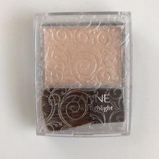 セザンヌケショウヒン(CEZANNE(セザンヌ化粧品))のセザンヌ パールグロウハイライト 01 シャンパンベージュ(2.4g)(フェイスパウダー)