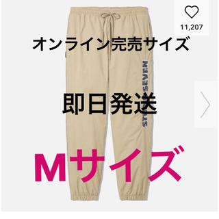 GU - GU × studioSeven ジョガーパンツ ベージュ M