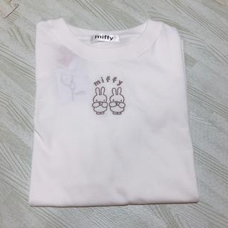 Avail - ミッフィー Tシャツ アベイル 刺繍 ホワイト M