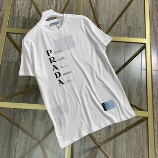 ◆新作 20SS◆ PRADA プリントジャージーTシャツ