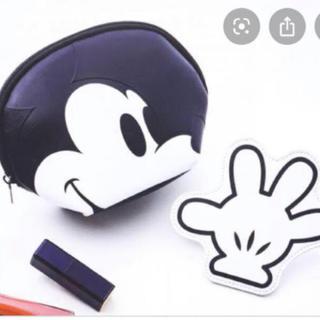 Disney - インレッド付録 ミッキーポーチ
