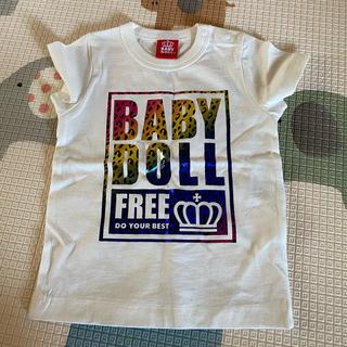 BABYDOLL - ベビードール baby doll  Tシャツ ホワイト