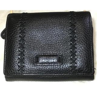 カンサイヤマモト(Kansai Yamamoto)のKANSAI YAMAMOTO 本革二つ折り財布 ブラック(折り財布)