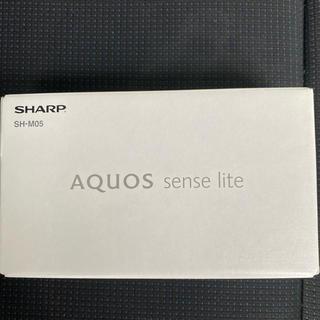アクオス(AQUOS)のAQUOS sense lite (SH-M05)gold(スマートフォン本体)