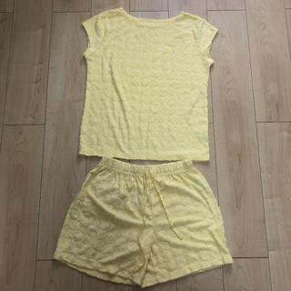 ジーユー(GU)のGU パイル素材パジャマ上下セット(ルームウェア)